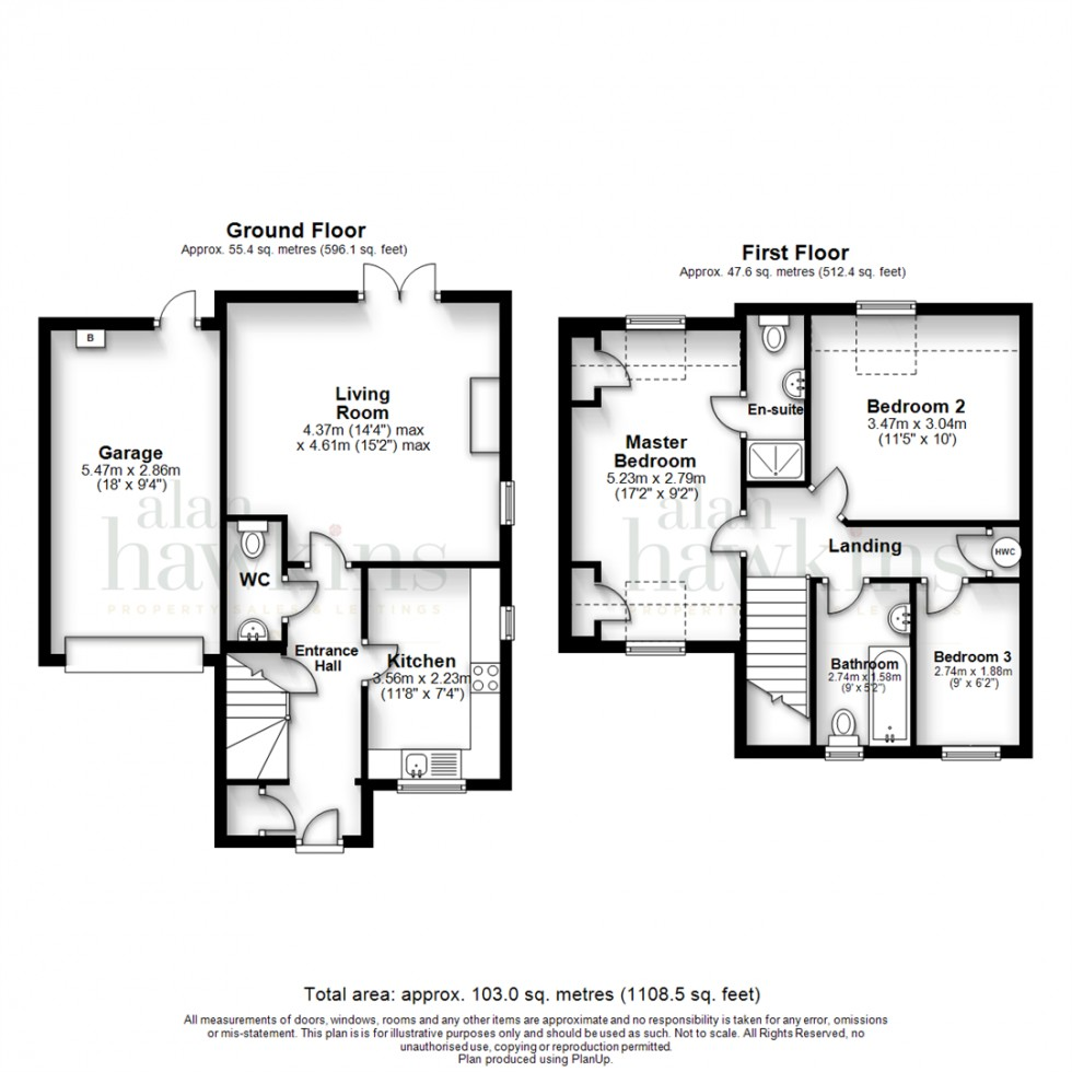 Floorplan for Brooklands, Royal Wootton Bassett SN4 7